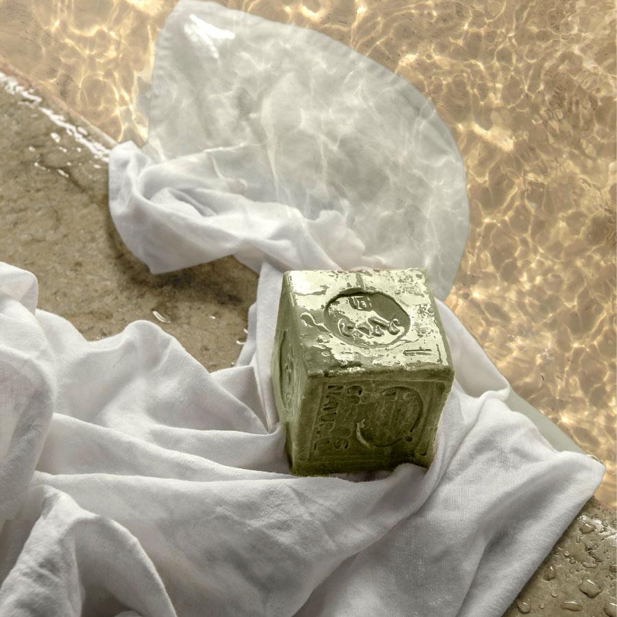 Conservation du savon d'alep